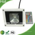 Luz de inundação 10w RGB com controlador remoto IR