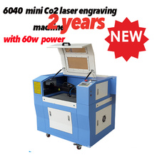 Ck6040 40W/60W Small Laser Cutting Machine Price for Paper/Fabric/Acrylic
