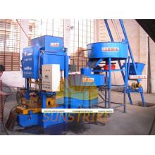 2015 Venta caliente de la máquina de fabricación de tejas con gran capacidad
