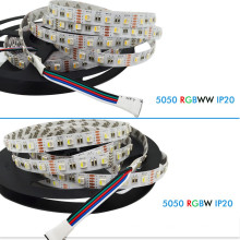 DC12V 4 in 1 5050 60 LED / m flexible RGBW led-streifen