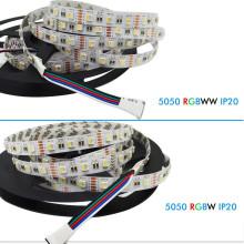 DC12V 4 en 1 5050 60LED / m flexible tira llevada RGBW