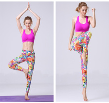 Custom fitness leggings women durable compression tights