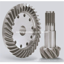 Helical Bevel Gears for Excavator