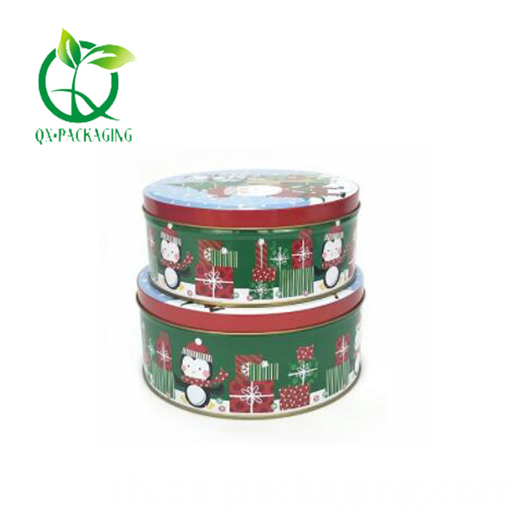 Christmas Chocolate Tins