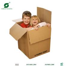 Caixas de papel movente cúbicos superiores da venda