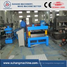 Folha inteiramente automático do ferro ondulado do telhado da construção da qualidade que faz a máquina