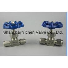 Válvula de agulha de micrômetro de aço inoxidável (YCWL11)