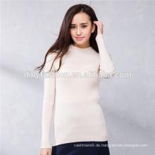 Langarm Pullover mongolischen Kaschmir-Pullover
