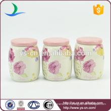 C12002C petite boite en céramique en café rose