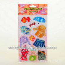 DIY cute children cartoon handmade paper sticker