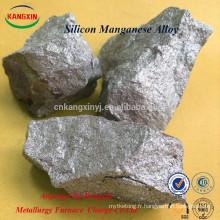 Ferro silicium manganèse / simn utilisé pour la fabrication de l'acier