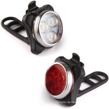 Superhelle LED-Fahrradleuchte vorne und hinten