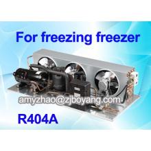refrigerador para el almacén con la unidad de condensación de refrigeración comercial R404a