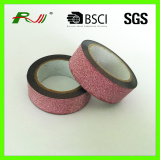 waterproof decoratie colorful glitter tape