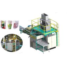 Автоматическая упаковочная машина для упаковки в мешки 25 кг