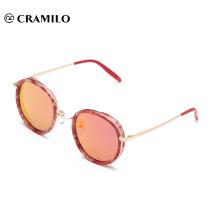 26003PC quadro polarizado lentes espelho óculos de sol