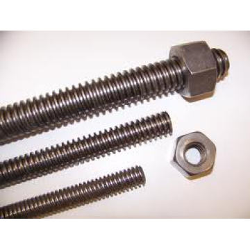Carbon Steel Threaded Rods with Blue Zinc Plated