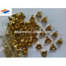 hochwertige Gr5 Titan Spinner Nuss-golden