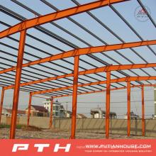 2015 diseño industrial corrugado prefabricado bajo costo estructura de acero almacén
