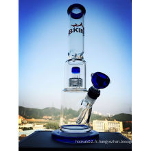 Nouveau design Recycler Glass Water Smoking Pipes Shisha Hookah
