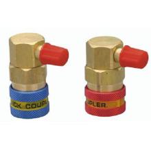 Quick Coupler for Refrigeration, R134A Refrigeration Quick Coupler, QC-12A,