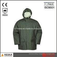 Wholesale Mens PU Rain Waterproof Jacket