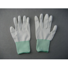 13G Polyester/Nylon Liner Grey PU 3/4 Coated Glove (5532)