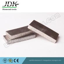 Outils de diamant de segment de coupe de grès