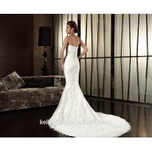 ZM16001 Custom Gowns für eine Hochzeit Ganze Spitze Appliqued Grecian Stil Perfekte Hochzeitskleid Klassische Brautkleider