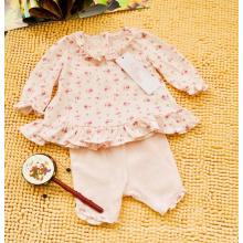 Combinaison fendue pour enfants, section mince, tricot décontracté