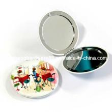 Heißer Verkaufs-Metallart und weise kompakter Spiegel (XS-M0094)