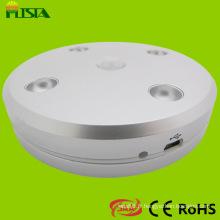 Mouvement populaire capteur LED ronde luminaire pour l'éclairage de l'armoire (ST-IC-Y05)