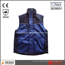 Custom Mens Oxford Padded Worker Vest