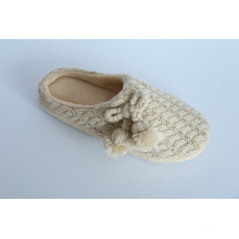 Women′s Indoor Slipper with Kint