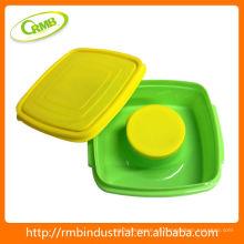 Utensilios de cocina de plástico recipiente de almacenamiento de alimentos (RMB)