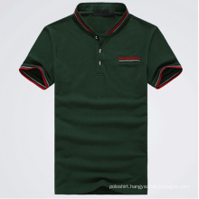 Dark Green OEM Service Newest Design Polo Shirt