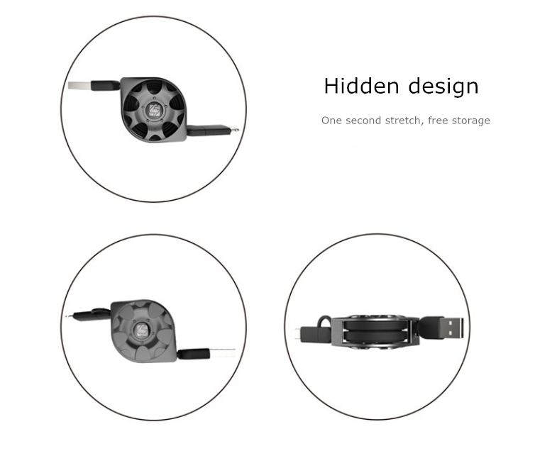 telescopic data line of new wheel model-
