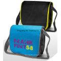 Saco promocional para mala a tiracolo portátil com mensagens de bolso
