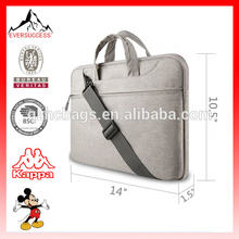 10-16 Inch Laptop Messenger Shoulder Bag with Strap Simple Tablet Laptop Case