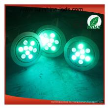 Rojo / Azul / Verde / Amarillo / Blanco Color para LED Downlight