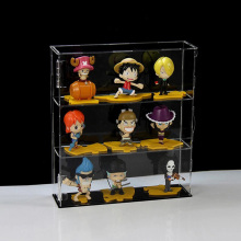 Durable Large Clear Acrylic Toy Display Fodral Hylla