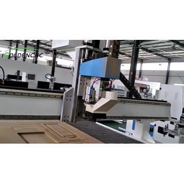 Gravure acrylique de bois de 1500 * 3000mm et routeur de commande numérique par ordinateur de machine / atc