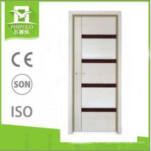 Puerta de madera de la melamina del panel del MDF del diverso color de la fábrica de Yongkang