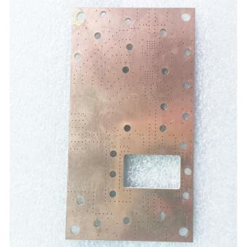 Bare Copper Microwave Frequency PCB