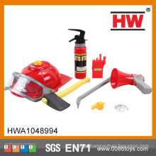 Hot Selling Plastic Real Tool Set Garden Toy Fire Helmets