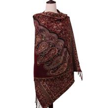 100% Polyester Damen Schal mit Blumenmuster