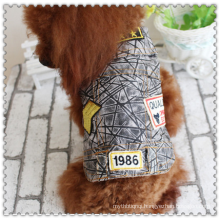 Pet Dog Cat Soft Jean Denim Puppy Coat Jacket Clothes Doggy Apparel