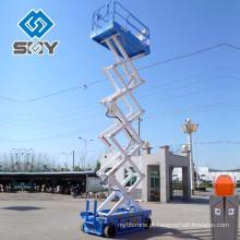 Mesa elevatória hidráulica fixa, mesa elevatória para tesoura fixa, mini mesa elevatória tipo tesoura