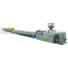 PVC,PE,PP profile and perforated communication pipe extrusion line