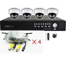 4CH Video Surveillance Kit (HP-KD370D2)